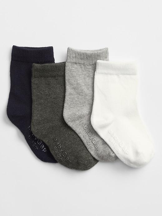 babyGap Crew socks (4-pack)