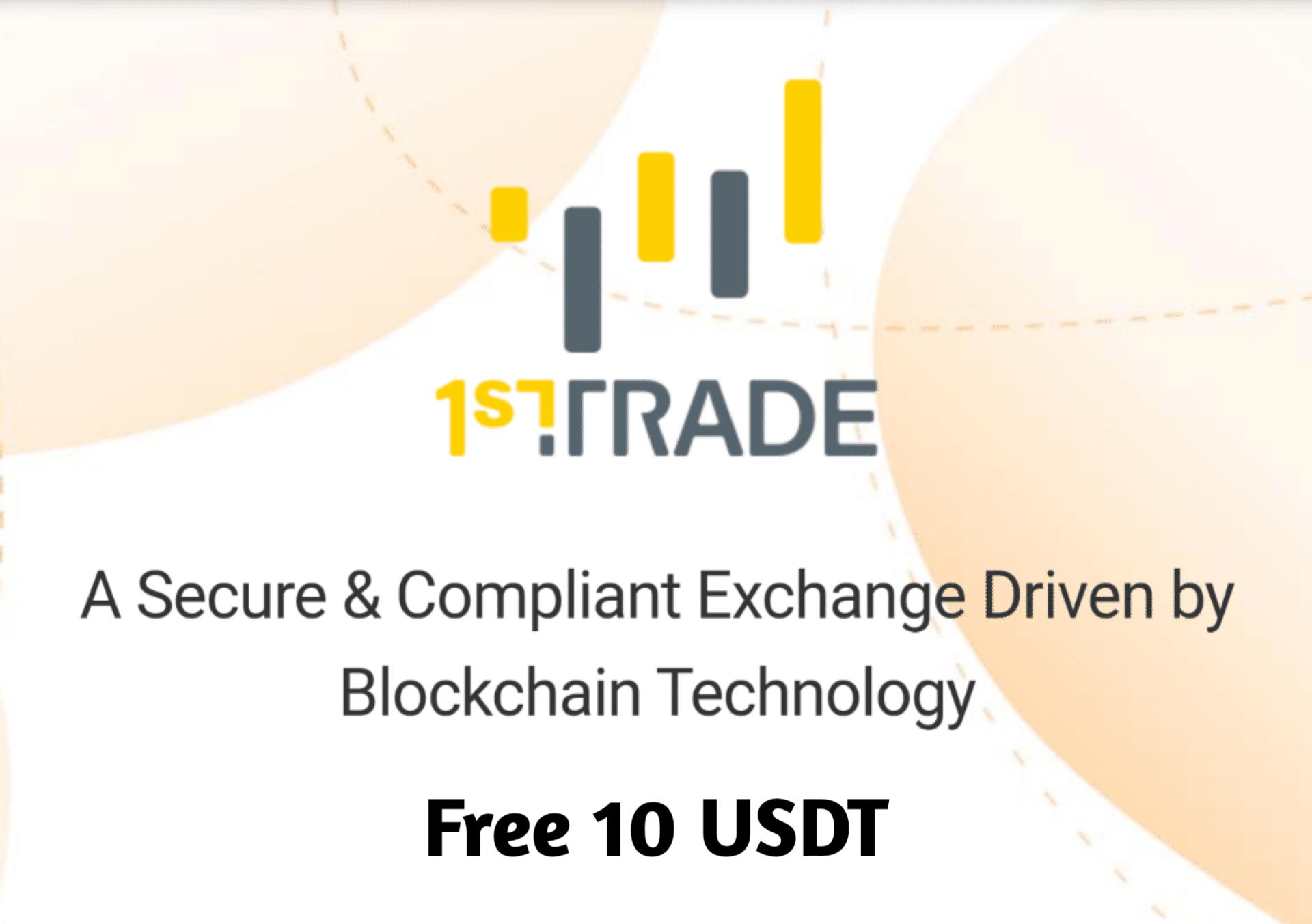 1st TRADE adalah situs pertukaran crypto-asset yang ...