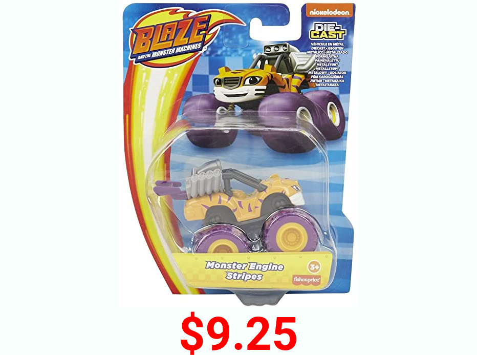 Blaze and The Monster Machines Monster diecast Vehicle (Stripes)