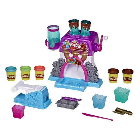 Play-Doh Kitchen Creations Candy Delight Playset, Includes Cans