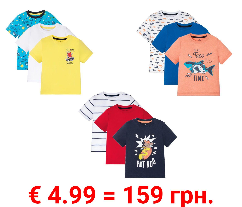 LUPILU® 3 Kleinkinder Jungen T-Shirts