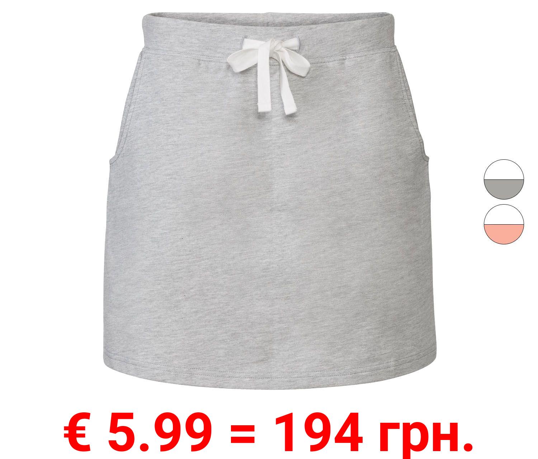 ESMARA® Sweatrock Damen, aus weicher Sweatware
