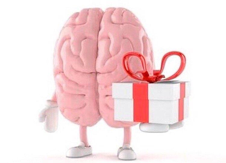 Мозг картинки с надписями, открытка днем