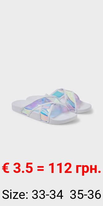 Sandalen - glänzend