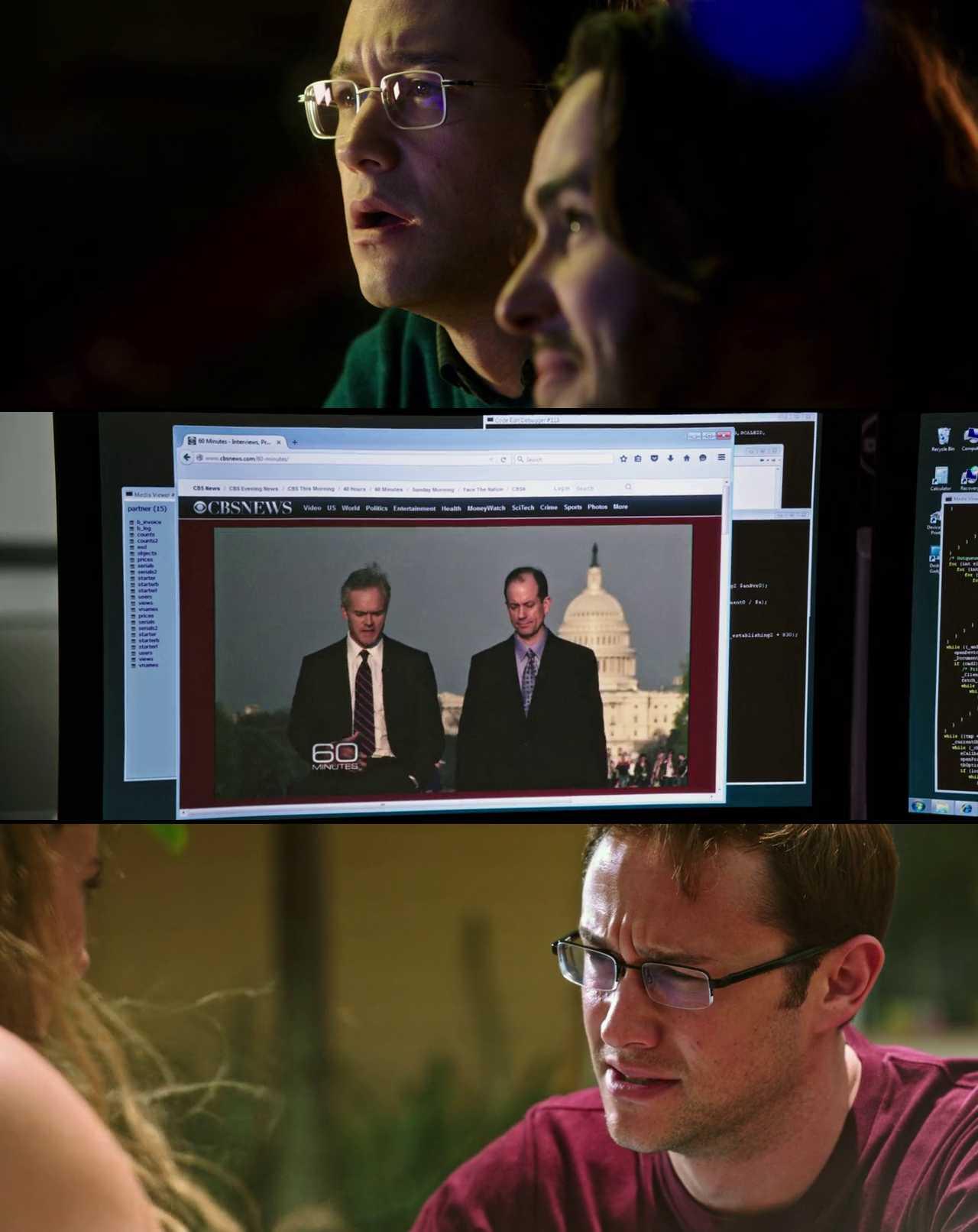 Screenshot of Snowden