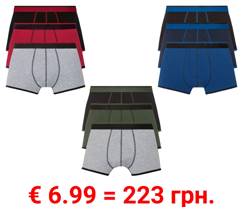 LIVERGY® Boxer Herren, 3 Stück