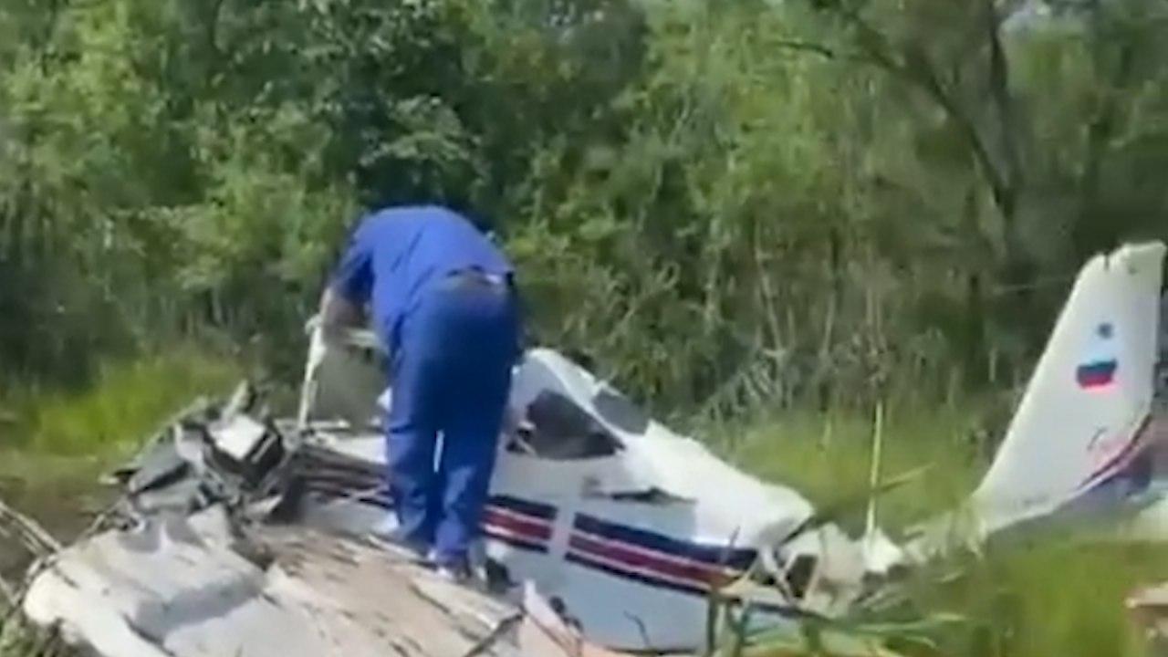 Пилот упавшего под Хабаровском самолета скончалась в больнице