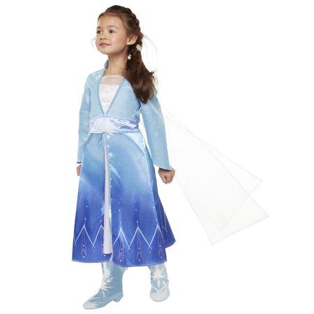 Disney Frozen 2 Princess Elsa Travel Dress