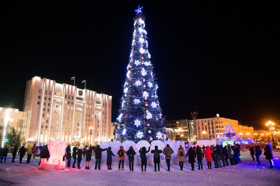 Новогодние массовые мероприятия запретили в Хабаровске
