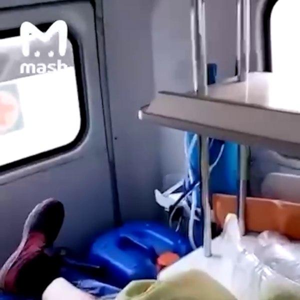 В Хабаровском крае врачи скорой помощи перевозят бензин вместе с пациентами