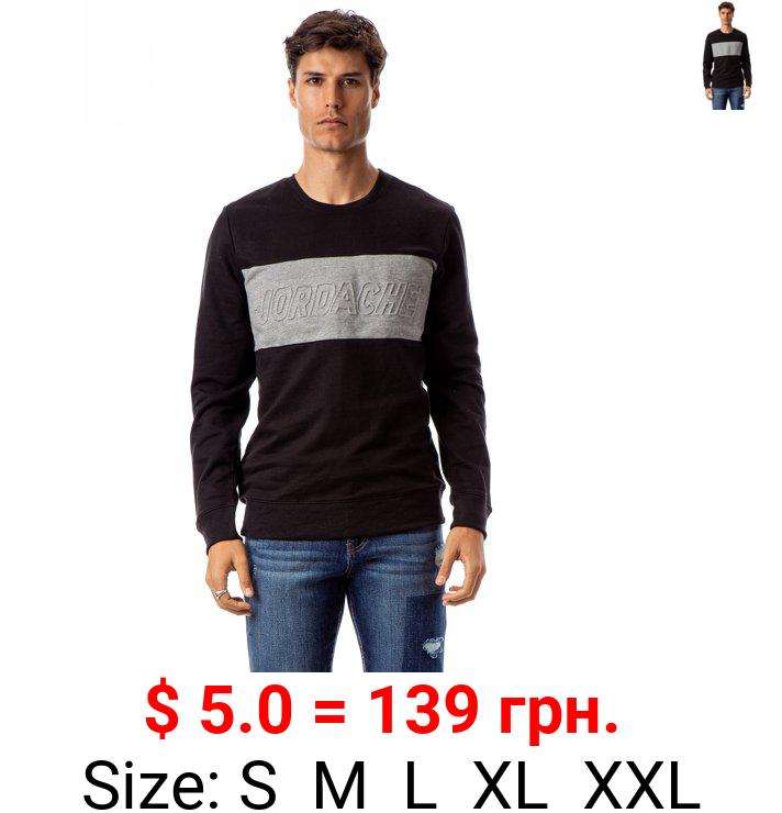 Jordache Vintage Men's Aaron Colorblocked Sweatshirt