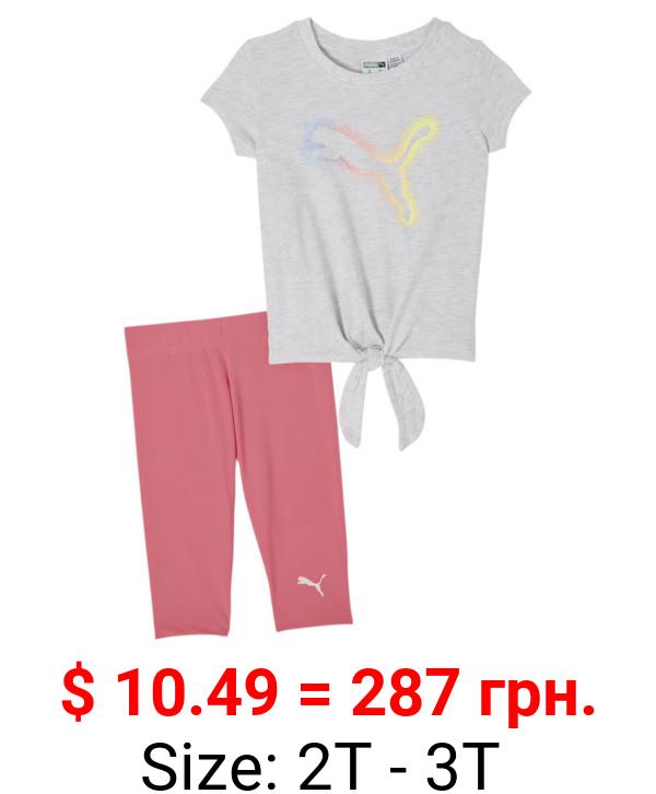 Tee + Capri Legging Infant + Toddler Set