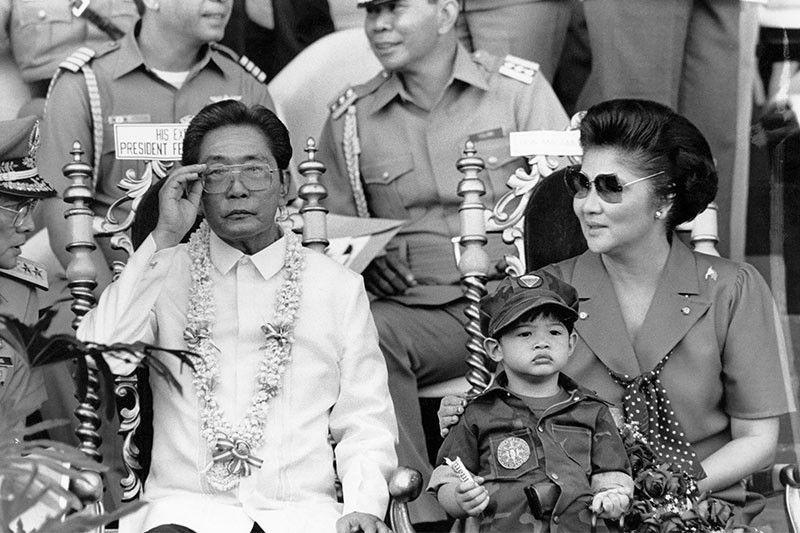 Президент Маркос с супругой