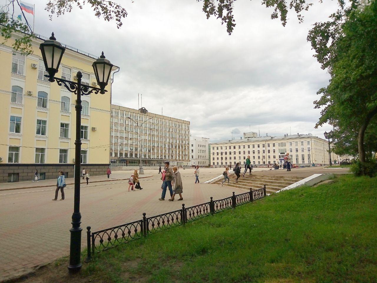 Стефановская площадь сыктывкар картинки
