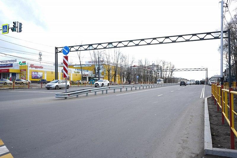 В Хабаровске завершилась масштабная реконструкция улицы Краснореченской