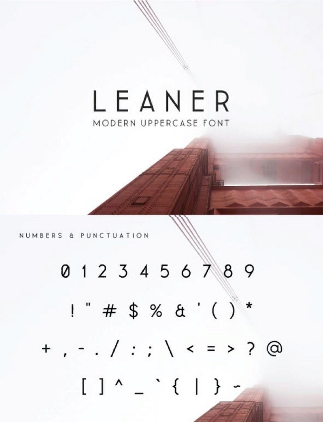 Leaner Modern