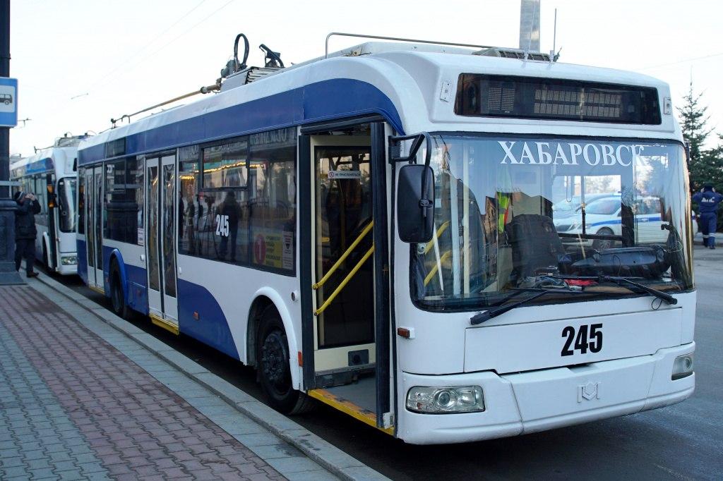 Все больше БУ-шных троллейбусов выходят на линию в Хабаровске