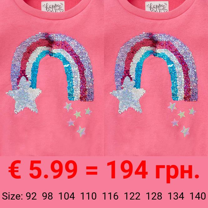 Sweatshirt - Glanz-Effekt