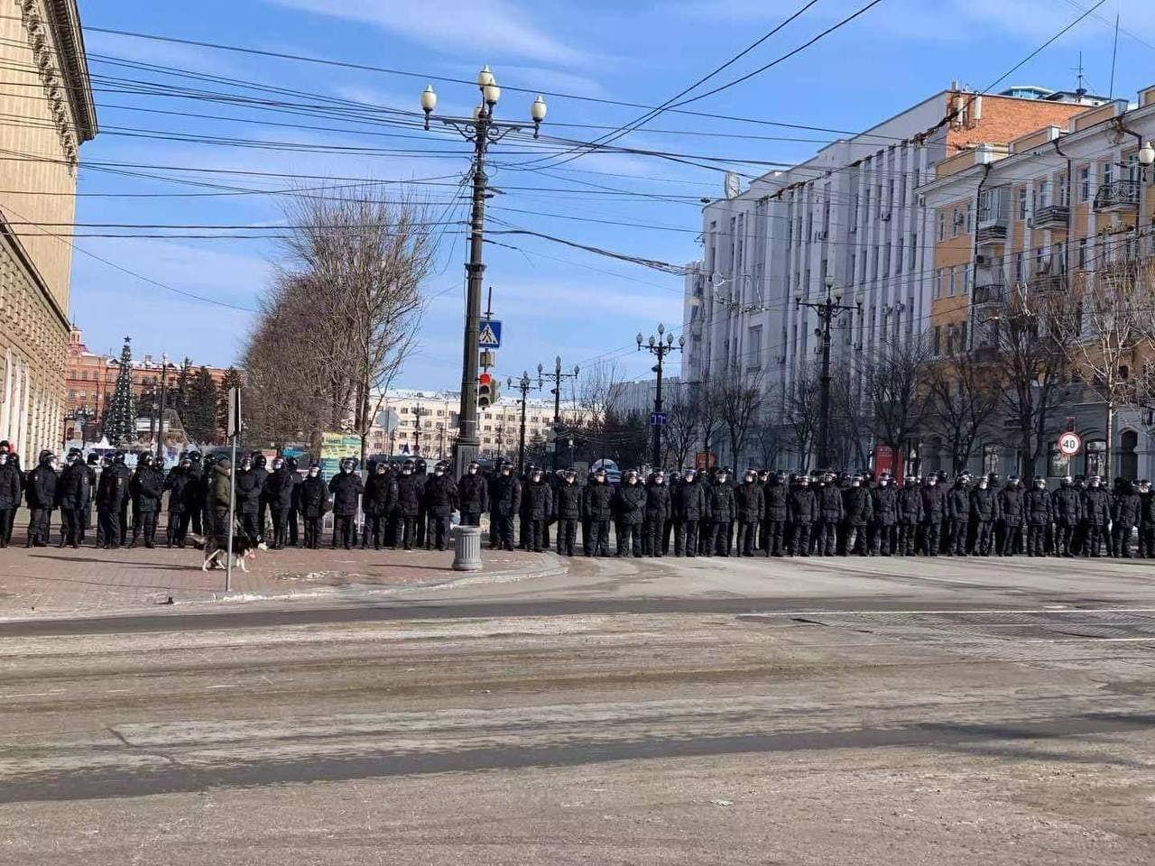 Протесты прошли в 144 городах России