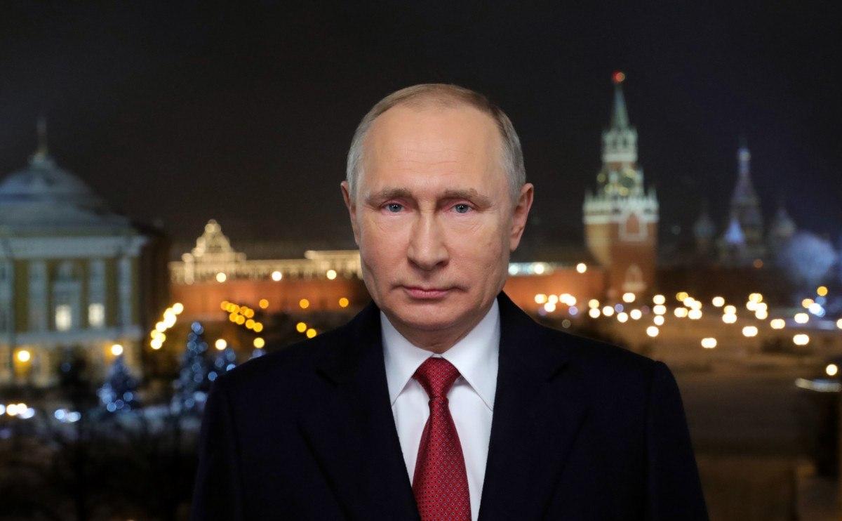 Владимир Путин поздравил Фургала с Новым годом