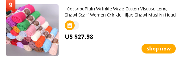 10pcs/lot Plain Wrinkle Wrap Cotton Viscose Long Shawl Scarf Women Crinkle Hijab Shawl Muslim Head Hijab Scarf wholesale