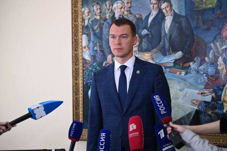 Михаил Дегтярев: Продолжаем работать