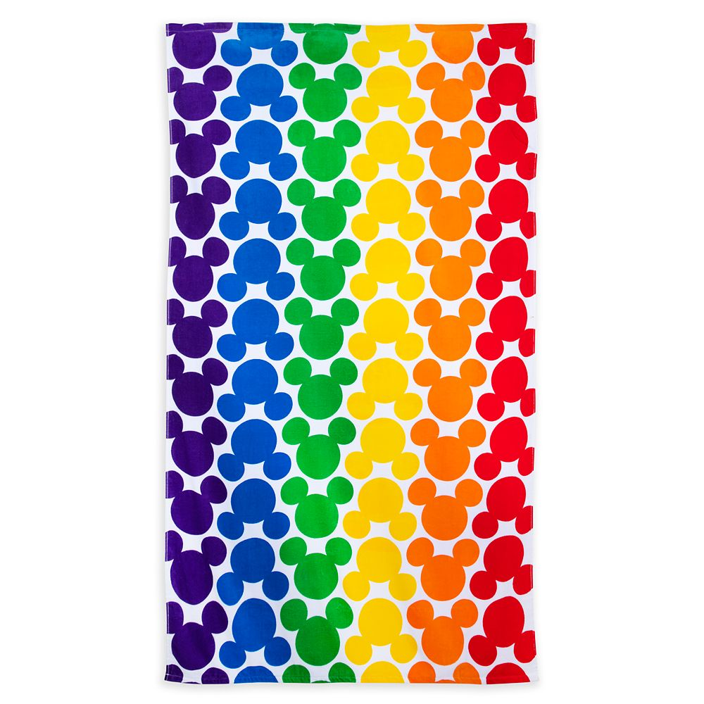 Rainbow Disney Collection Mickey Mouse Beach Towel