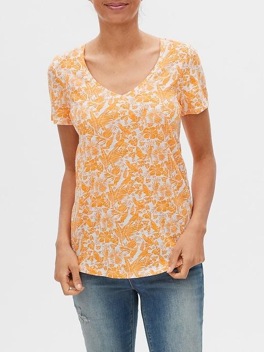 Easy Print V-Neck T-Shirt