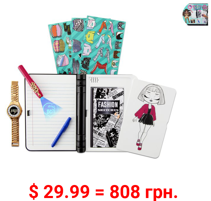 L.O.L. Surprise! O.M.G. Fashion Journal – Electronic Password Journal with Watch