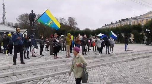 ВКомсомольске-на-Амуре задержали активиста иучастника акций вподдержку Сергея Фургала