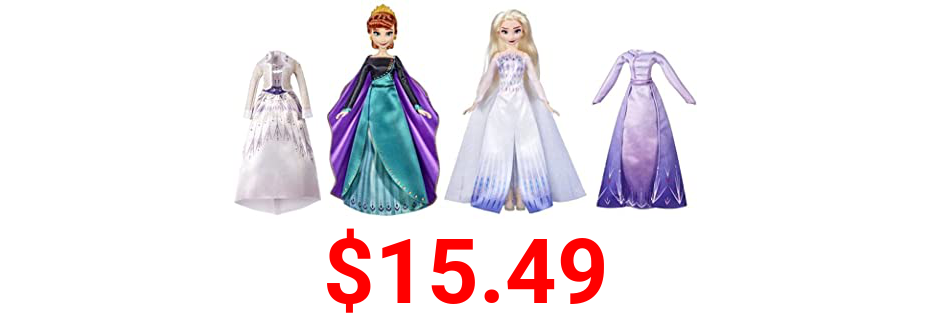 Disney's Frozen 2 Anna and Elsa Royal Fashion, Clothes and Accessories (Elsa & Anna)