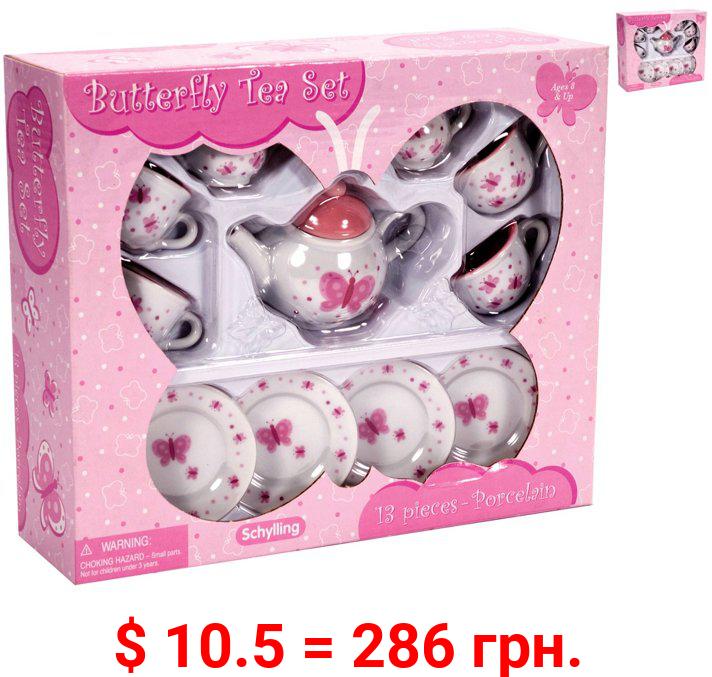 Butterfly Mini Toy Tea Set