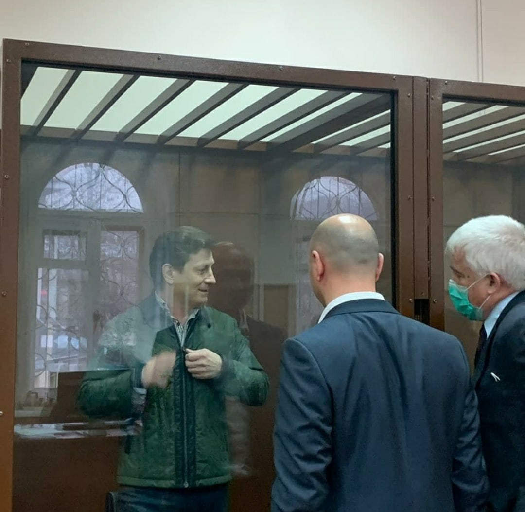 Следственный комитет завершит расследование дела экс-губернатора Хабаровского края Фургала до 8 мая
