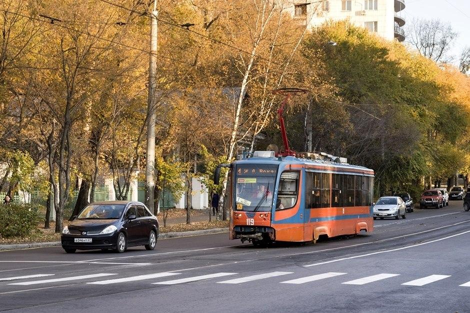 БУшные трамваи привезут в Хабаровск из Москвы