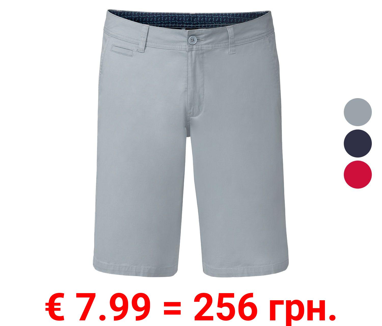 LIVERGY® Shorts Herren, mit seitlichen Eingrifftaschen