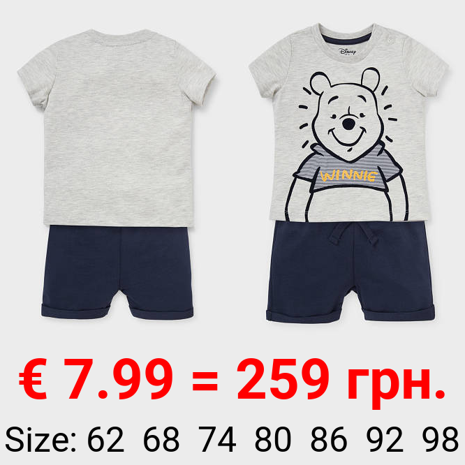 Winnie Puuh - Baby-Outfit - 2 teilig