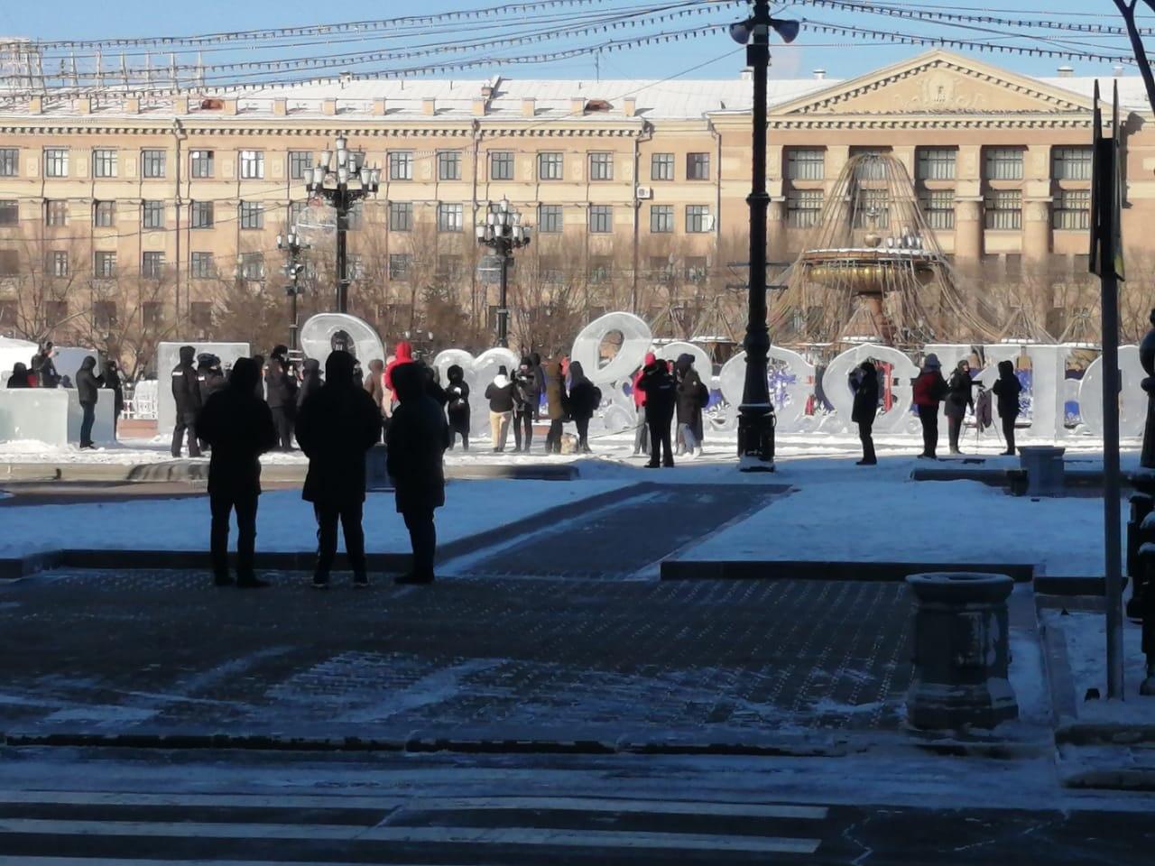 ВХабаровске полиция на акции вподдержку Фургала задержала нескольких человек