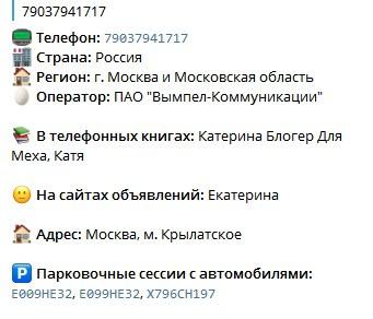 Екатерина Бакшеева - эскортница из Владика 37