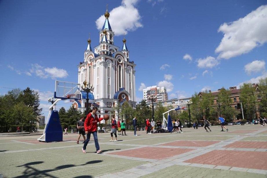 Мероприятия на Комсомольской площади пройдут в Хабаровске