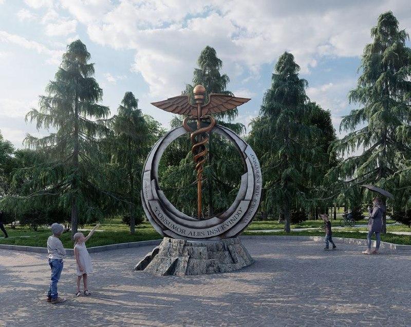 В Хабаровске утвержден проект скульптуры, посвященной медицинским работникам