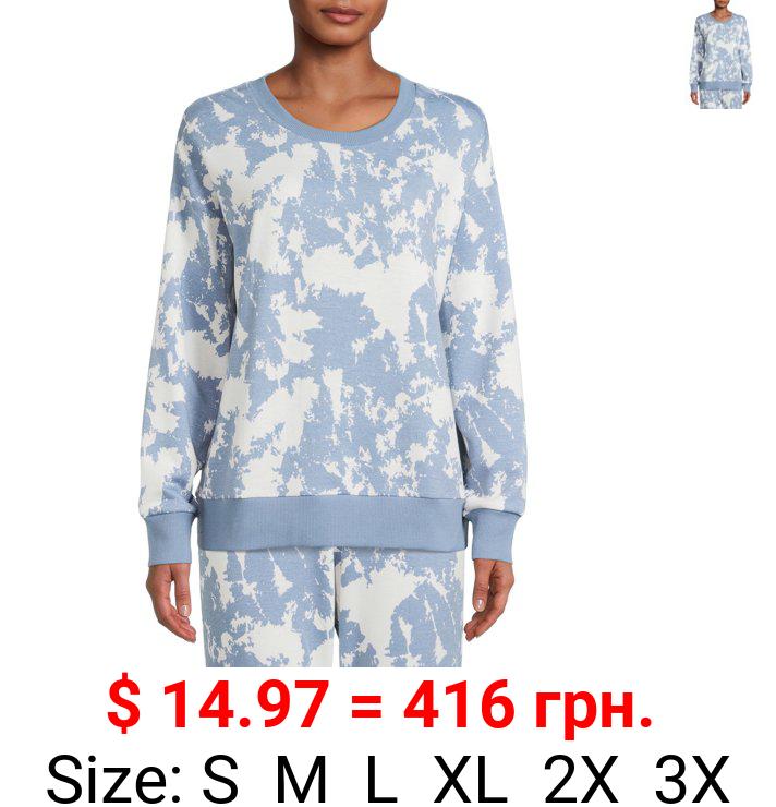 Reebok Women's and Women's PLus Lounge Sweatshirt