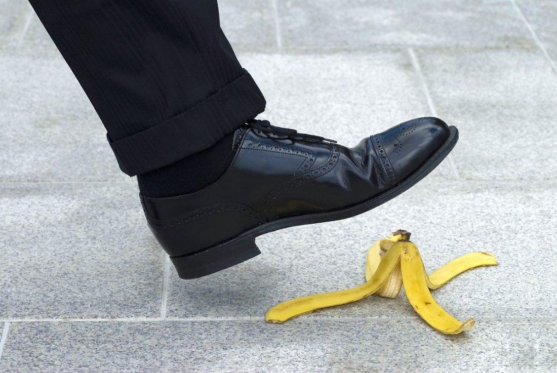 Решила все-таки банан скушать