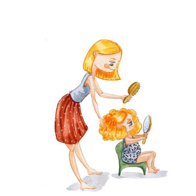 Мамы с детьми рисунки смешные, поздравление рождением сына