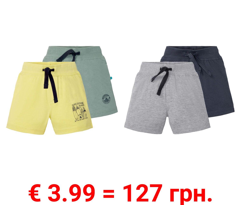 LUPILU® 2 Kleinkinder Jungen Sweatshorts