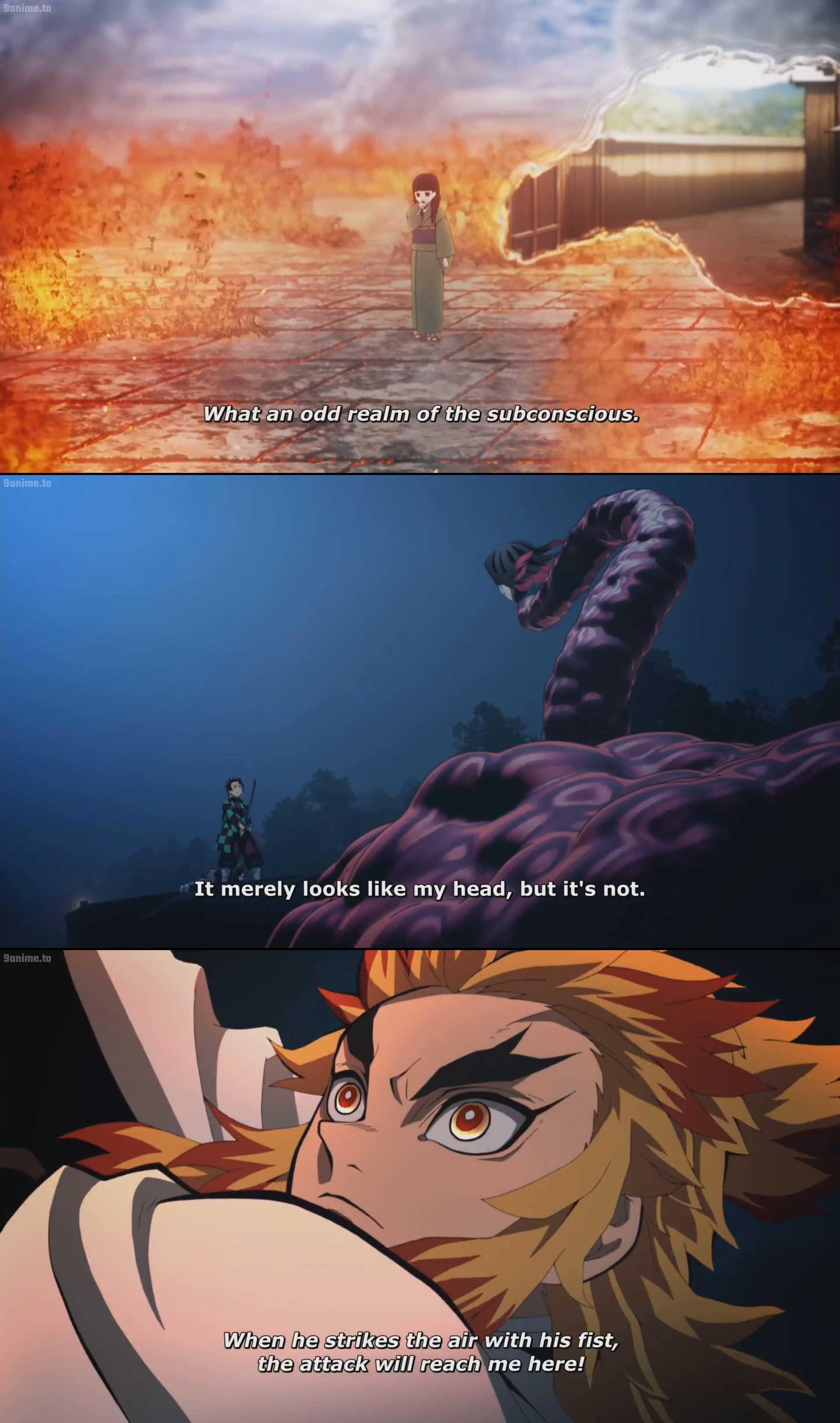 Screenshot of Demon Slayer the Movie: Mugen Train Movie