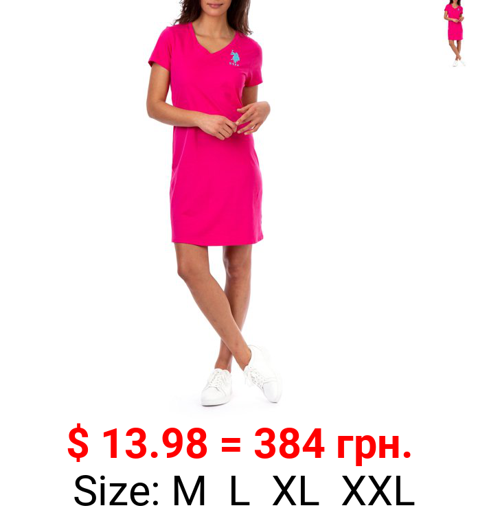 U.S. Polo Assn. Solid Vneck Dress Women's