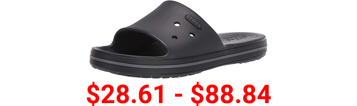 Crocs Men's and Women's Crocband Platform Slide Sandals