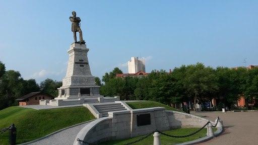 Памятник Н.Н.Муравьеву-Амурскому (Хабаровск)