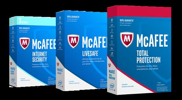 mcafee product key verification