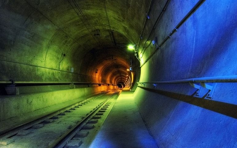 Тоннель под Амуром